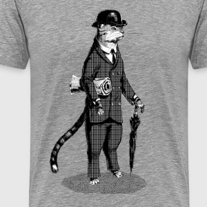 Business Cat T-Shirts - Männer Premium T-Shirt