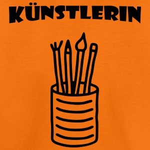 Künstlerin - Buntstifte T-Shirts - Teenager Premium T-Shirt