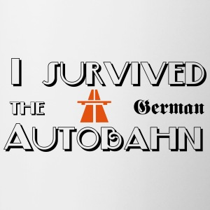 I survived the German Autobahn Bouteilles et tasses - Tasse