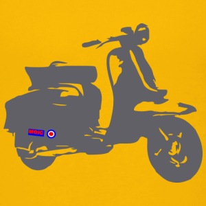 Retro Scooter - Teenage Premium T-Shirt