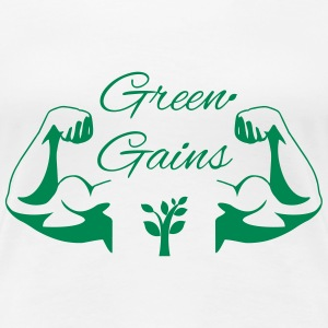 Green Gains T-Shirts - Women's Premium T-Shirt