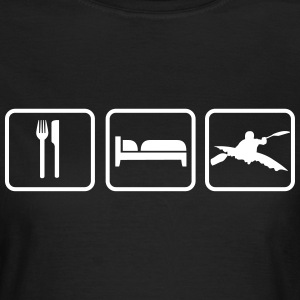 Eat Sleep Kanu T-Shirts - Frauen T-Shirt