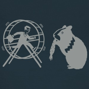 HamHam, out of the hamster wheel :) - Frauen T-Shirt