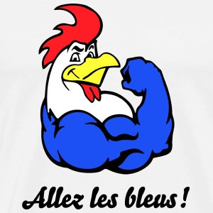 French Rooster T-shirts - Mannen Premium T-shirt