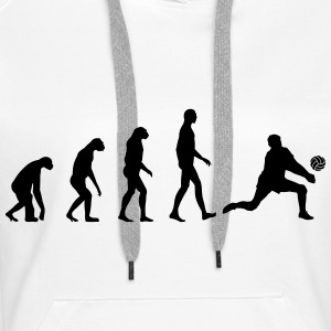 Evolution Volleyball Sweat-shirts - Sweat-shirt à capuche Premium pour femmes