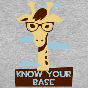 Giraffe, Know your base Tee shirts - T-shirt Bio Femme