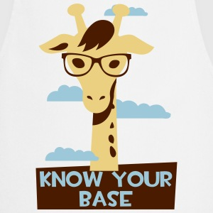 Giraffe, Know your base  Aprons - Cooking Apron
