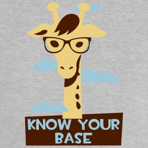 Giraffe, Know your base T-shirts - Baby T-shirt