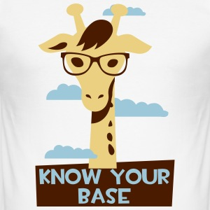 Giraffe, Know your base T-shirts - slim fit T-shirt