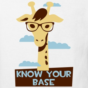 Giraffe, Know your base Camisetas - Camiseta ecológica niño