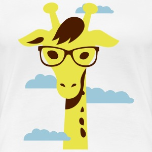 Giraffe, Know you base 2 T-shirts - Vrouwen Premium T-shirt