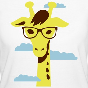 Giraffe, Know you base 2 T-shirts - Ekologisk T-shirt dam