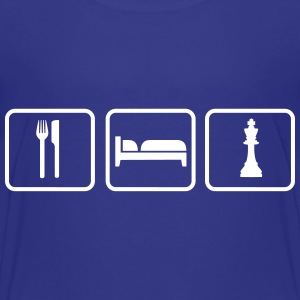 Eat Sleep Chess Camisetas - Camiseta premium niño