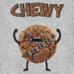 Funny Nerd Humor - Chewy Chocolate Cookie Wookiee T-shirts - Ekologisk T-shirt herr