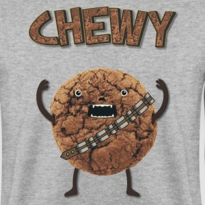 Funny Nerd Humor - Chewy Chocolate Cookie Wookiee Sweatshirts - Herre sweater