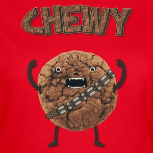 Funny Nerd Humor - Chewy Chocolate Cookie Wookiee Tee shirts - T-shirt Femme