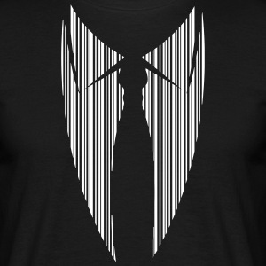 Suit with tie in bar code T-Shirts - Men's T-Shirt