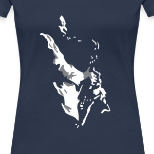 New Orleans Sax - Women's Premium T-Shirt