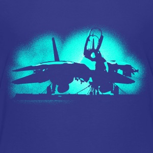 Jet F-14 Tomcat Shirts - Teenage Premium T-Shirt