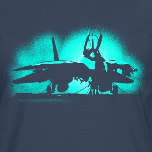 Jet F-14 Tomcat Long sleeve shirts - Men's Premium Longsleeve Shirt