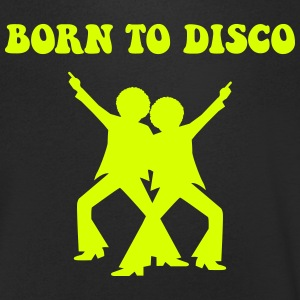 born to disco personnage Tee shirts - T-shirt Homme col V
