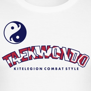 taekwondo_carmouflage_vec_2fr Tee shirts - Men's Slim Fit T-Shirt