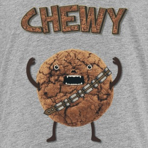 Funny Nerd Humor - Chewy Chocolate Cookie Wookiee Shirts - Teenager Premium T-shirt