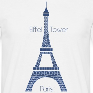 Eiffel Tower T-Shirts - Men's T-Shirt