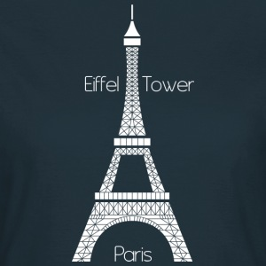 Eiffel Tower (dark) T-Shirts - Women's T-Shirt