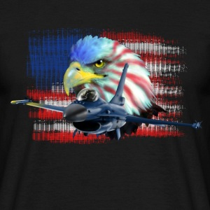 Jet F-16 Fighting Falcon T-shirts - Mannen T-shirt