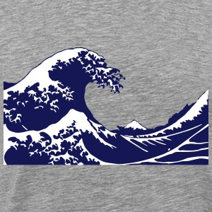 Wave T-Shirts - Men's Premium T-Shirt