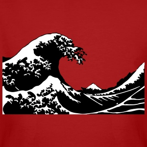 Wave - Vague Tee shirts - T-shirt bio Homme