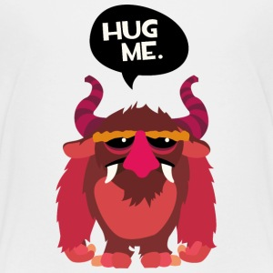 Hug me Monster Shirts - Teenage Premium T-Shirt