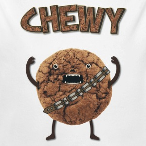 Funny Nerd Humor - Chewy Chocolate Cookie Wookiee Sweats - Body bébé bio manches longues