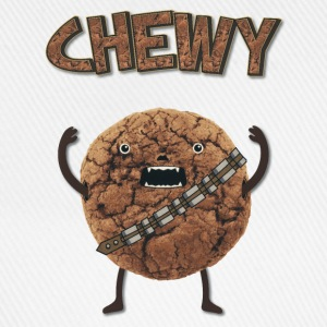 Funny Nerd Humor - Chewy Chocolate Cookie Wookiee Casquettes et bonnets - Casquette classique