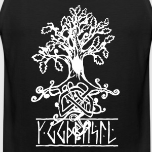 yggdrasil- the norse tree of life  - Men's Premium Tank Top