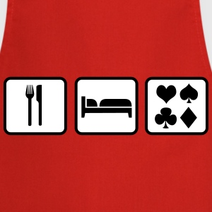 Eat Sleep Poker  Aprons - Cooking Apron