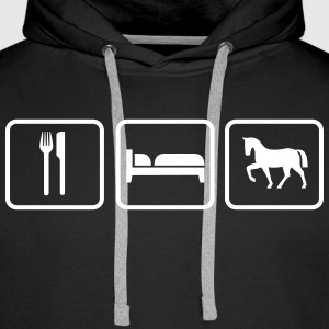 Eat Sleep Ride Pullover & Hoodies - Männer Premium Hoodie