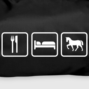 Eat Sleep Ride, Eat Sleep Horse Bolsas y mochilas - Bolsa de deporte