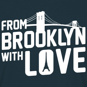 From Brooklyn with Love - Männer T-Shirt