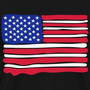 us flag - Men's Premium T-Shirt