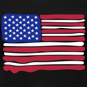 us flag - Women's Premium T-Shirt