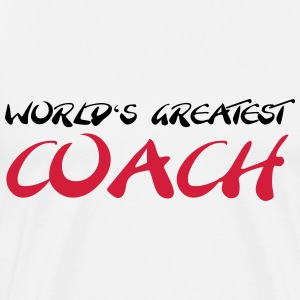World's greatest Coach T-skjorter - Premium T-skjorte for menn