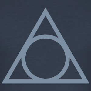 Eye of god, circle, symbol, triangle, witchcraft T-shirts - Herre Slim Fit T-Shirt