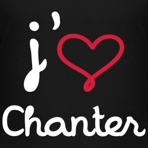 J'aime chanter T-Shirts - Teenager Premium T-Shirt