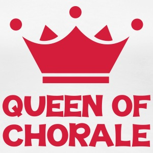 Queen of Chorale T-Shirts - Women's Premium T-Shirt