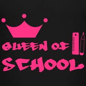 Queen of School Shirts - Teenager Premium T-shirt