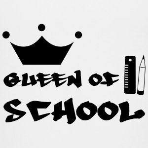 Queen of School Shirts - Teenage Premium T-Shirt