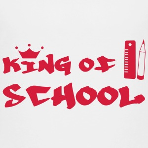 King of School Shirts - Teenage Premium T-Shirt