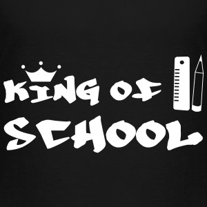 King of School Camisetas - Camiseta premium niño